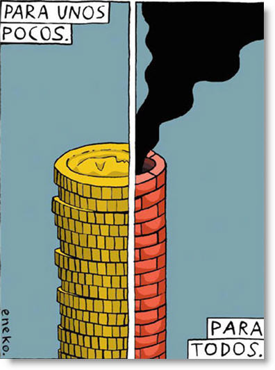 el humo injusto