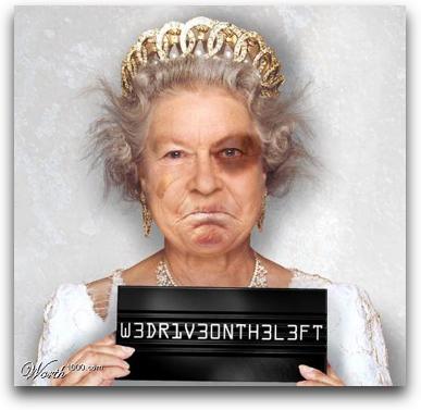La señora Reina de Inglaterra